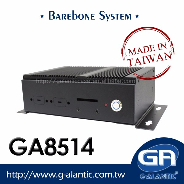 "GA8514 - High Performance 3.5"" SBC Fanless barebone system for Car PC"
