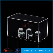 Lucite acrylic display case for ring shop display case