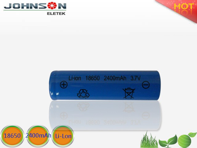 3.7v 18650 1800mah li-ion rechargeable battery