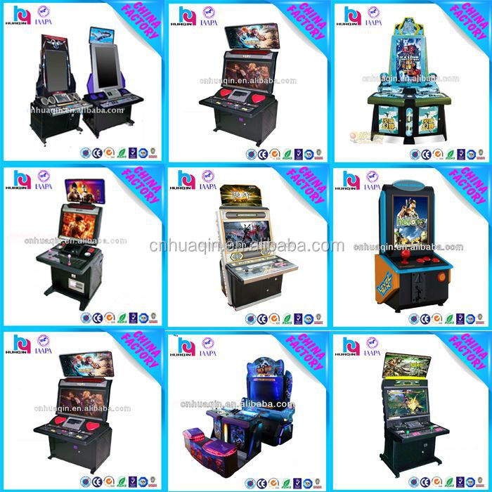 Cheap Mini Arcade Machine,32''THE KING OF FIGHTERS Slot Lottery 2 People Tekken Arcade Game Machine