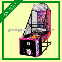 Children basket ball game machine with multi pictures