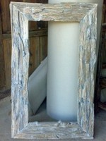 Wall Mirror with Rustic Style