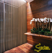 Fashionable Architectural Decorative Metal Drapery Curtains Metal Mesh Fabric Drapery