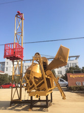 ONE BAG DIESEL CONCRETE MIXER WITH WINCH