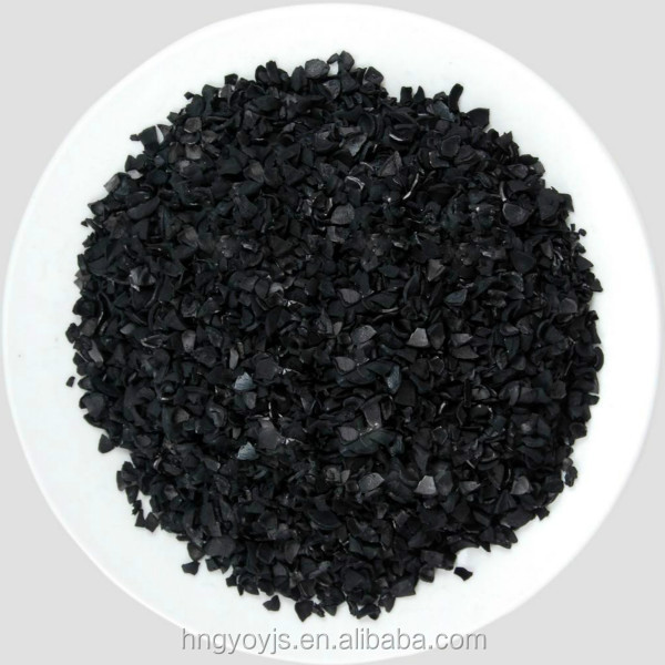 High efficient nut shell activated carbon filter material for water treating