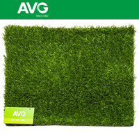 Factory Price 30MM Monifil PE curled PP Garden Landscaping Artificial grass