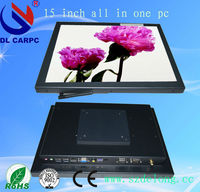 2013 New Product DL 17'' Aluminum Resistance Touch Screen Indoor AIO Industrial Design All In One Pc POS