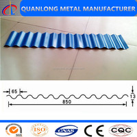 Z80 SGCC Galvanized Color Steel Roof Tile