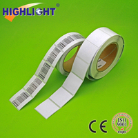 RL044S Retail Security 4x4cm Barcode Label