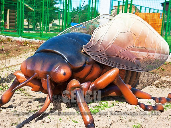 Robotic Big Size Insect Statues Insects Park