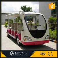 CE approved 14 Seats electric tourist bus with price factory offer