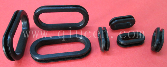 rubber grommet food grade oval PVC colored car square rubber grommet food grade rubber waterproof gromme