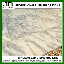 sandblasted finish cloud grey marble tiles/ pool coping tile