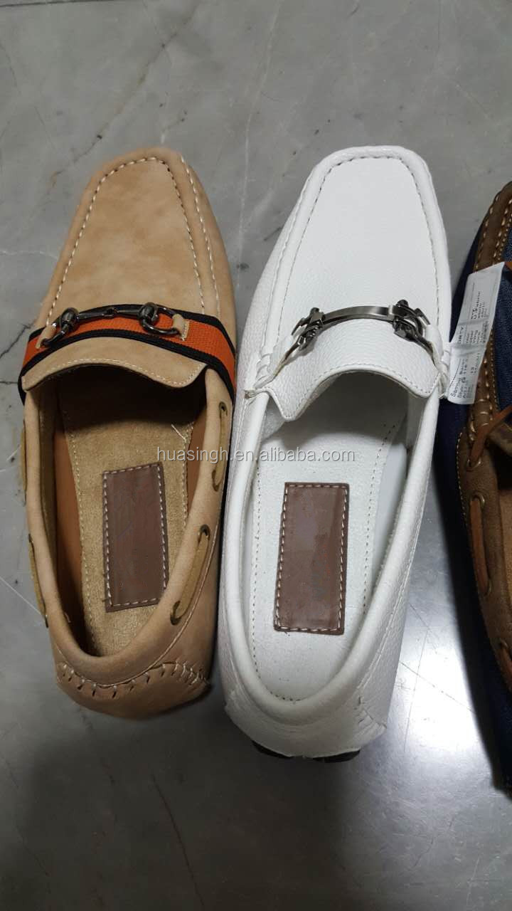 comfortable casual wear mens boat style penny loafer shoes MOC shoes