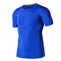 Customized Men T SHIRT polyester spandex printing custom Breathable 3d t shirts for seamless gym Quick Dry men short T-shirts