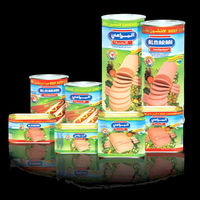 frozen, Chilled and canned meat products