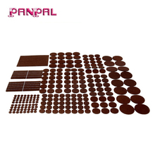 China factory supply 235 piece furniture pads, huge quantity of felt pads furniture feet with many big sizes