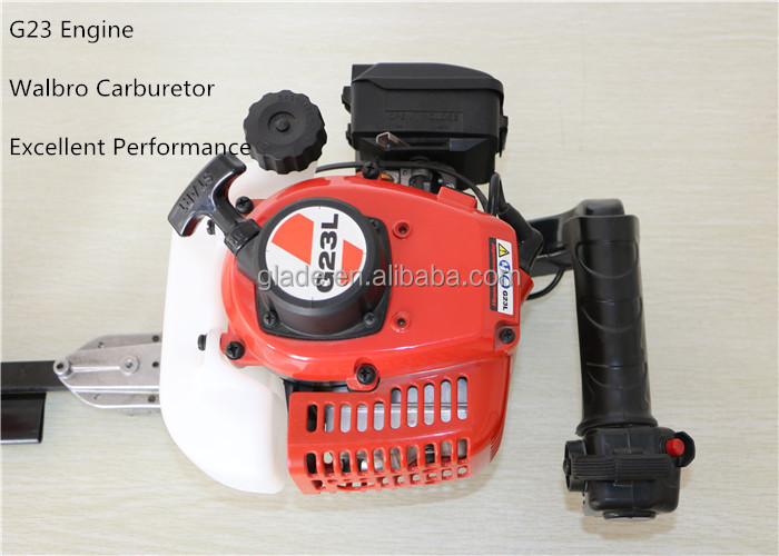 22.5cc HT7510 Single Blade Petrol Brush Cutter Hedge Trimmer Reciprocation Garden Tools