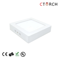 CTORCH 12w Surface square led panel light indoor lighting
