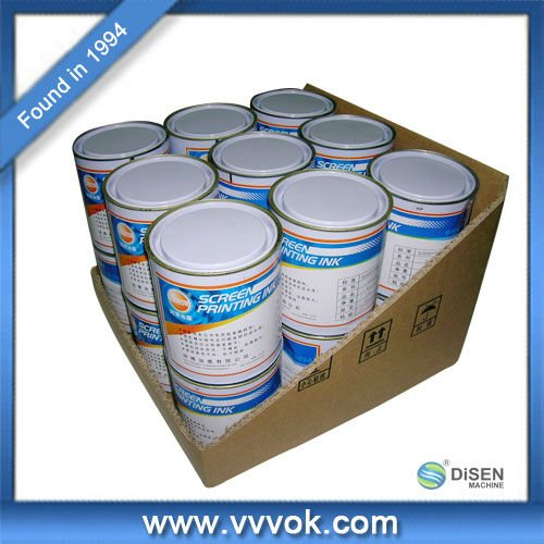 Ceramic uv screen printing ink
