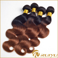 Human hair direct sew in virgin indian wavy human hair extensions