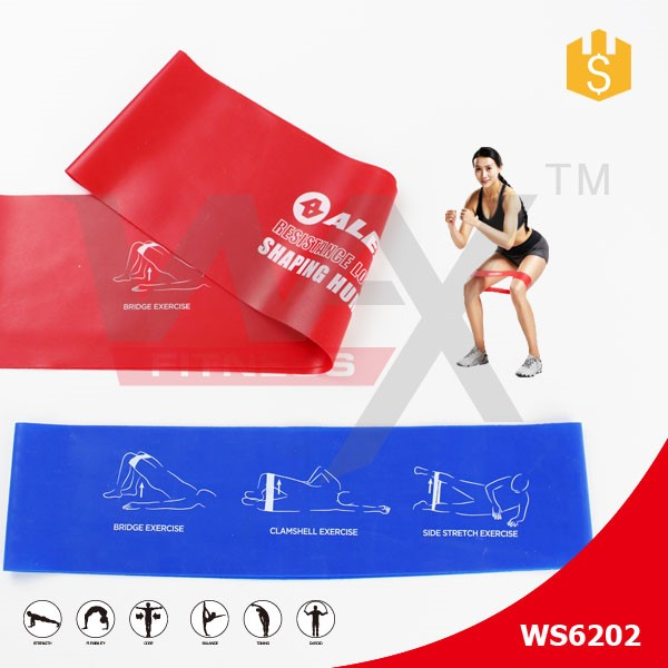 Latex TPE pull up resistance band resistance loop