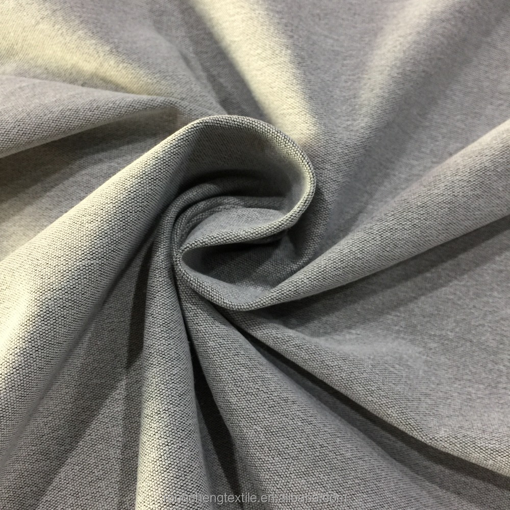 Knitted Spandex/polyester French Terry Twill Fabric for Garment and Sportswear