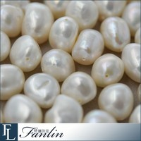 Wholesale 11 - 12mm natural irregular freshwater loose pearl beads