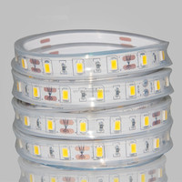 High lumen output 12v/24v smd 5630 flexible led strip ribbon with ce rohs
