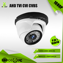 2MP 1080P IR Range 25m Hybrid 4 in 1 AHD TVI CVI CVBS varifocal dome hdmi camera lilin tech vision cctv