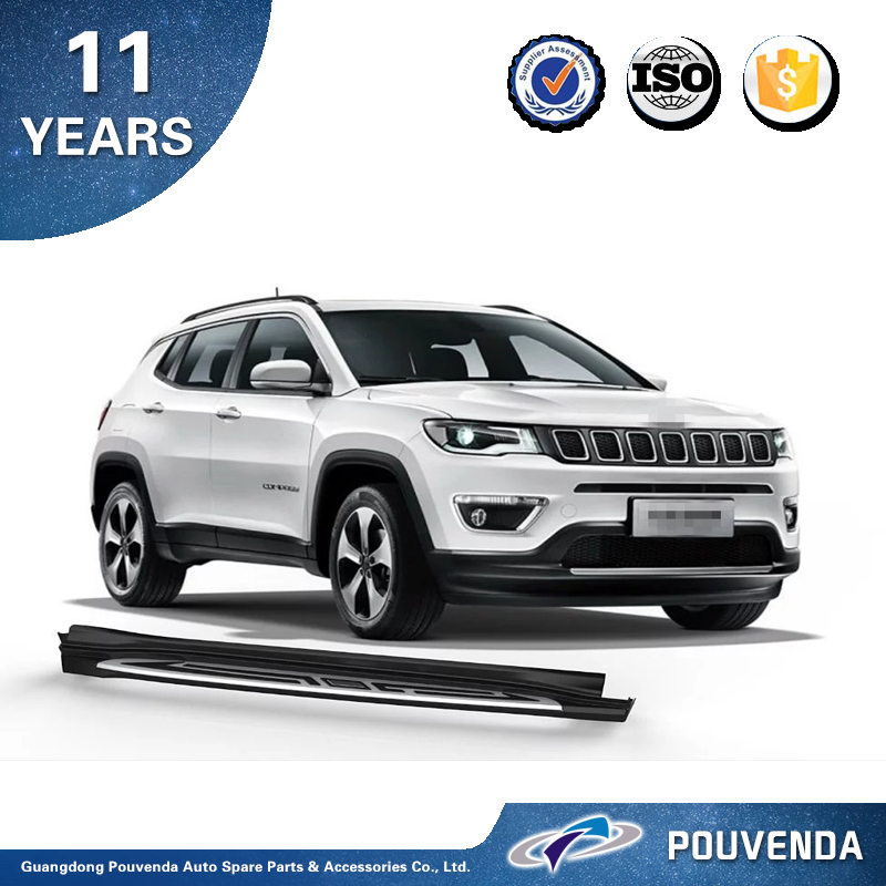 auto parts running board for Jeep Compass 2017 accessories side step bar for Jeep