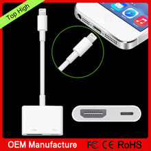 OEM Light--ning Digital AV Adapter cable for Select iPhone, iPad and iPod Models (MD826AM/A)