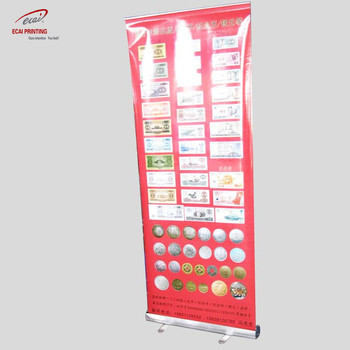 Customized High Quality Roll Up Stand Printing,Retractable banner stand