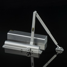 D8016 UL Listed Heavy Duty Size Adjustable Commercial Door Closer for 20-150kg door