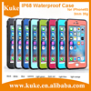 2016 NEW IP68 Waterproof Phone Case Super Thin 3MM Phone Case for iPhone with High Quality Dirtproof / Snowproof / Shockproof