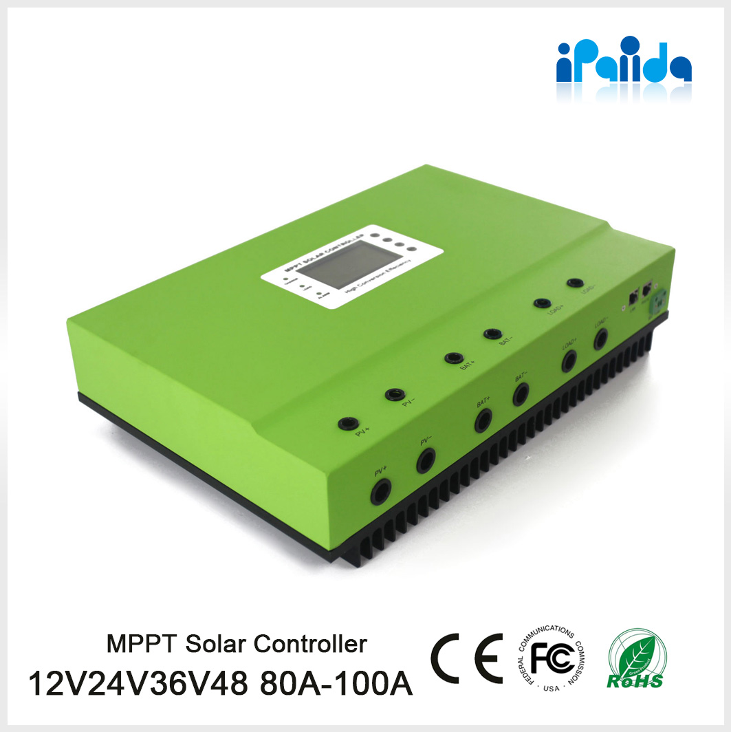 Manufacturer of high conversion efficiency 12V 24V MPPT solar charge controller 15A 20A 30A 40A 50A