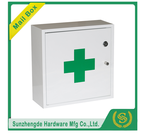 medical box / wall mounted medical box Metal Medicine Cabinet with lock