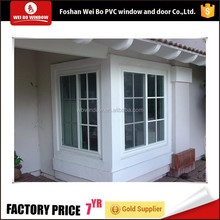 pvc profile plastic steel sliding glass water proof window for cheap price