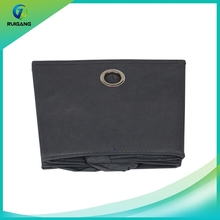 Factory price black home non-woven storage box for clothing