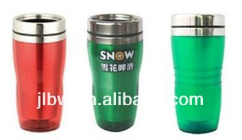high quality 450ml double layer travel mug stainless steel