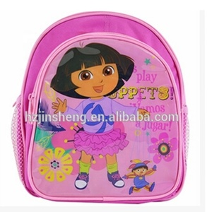hot sale child dora school bag backpack for promotion