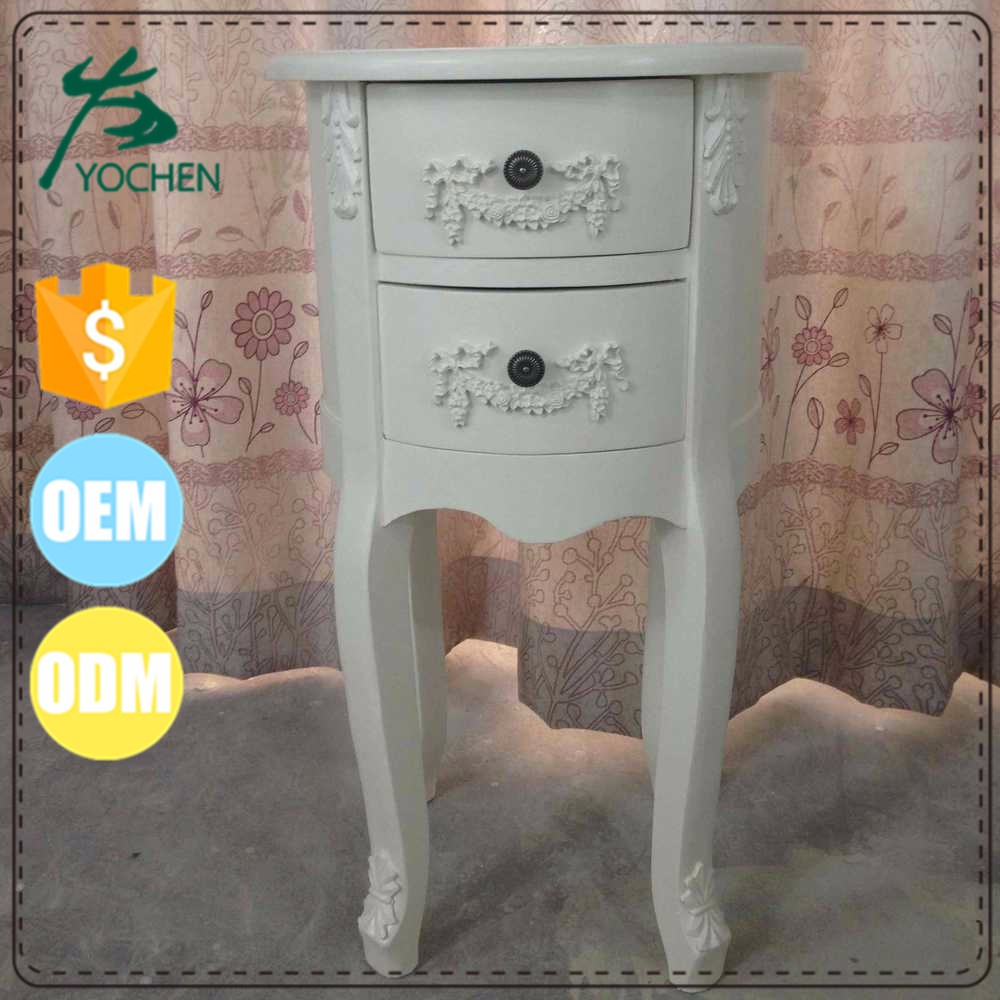 Royal hand painted cabinet retro sheesham wood furniture