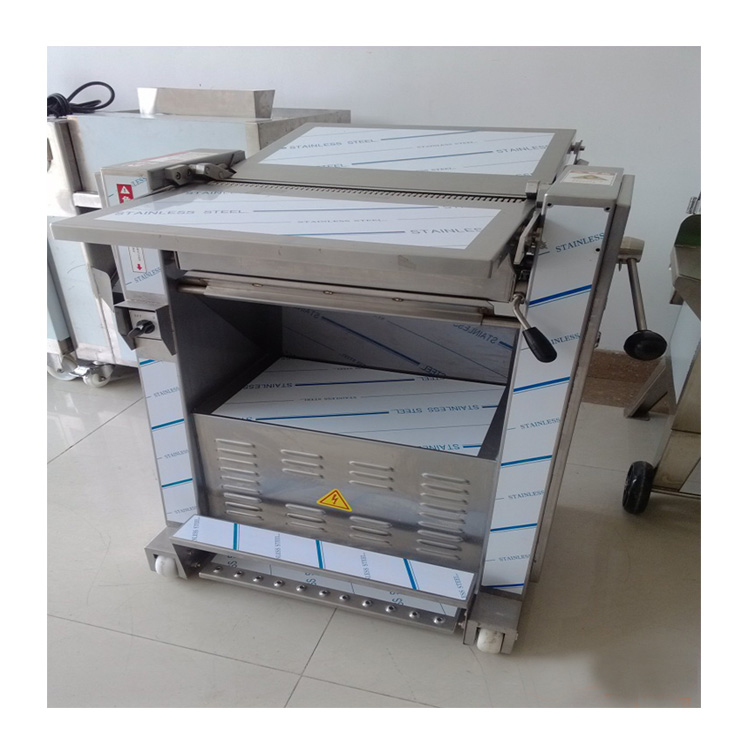 Online support professinal supplier pig skin peeling machine with 1 year quality assurance