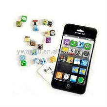 Supply promotion gift iphone plastic frame fridge magnet