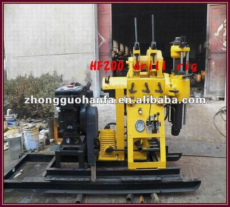 Mini water drilling rig machine!! Hot sales HF150 hand water well drilling equipment