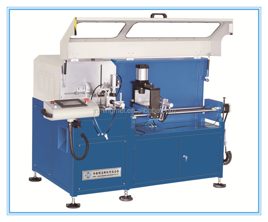 Cleat cutting machine, Automatic Corner Connector Saw CNC control