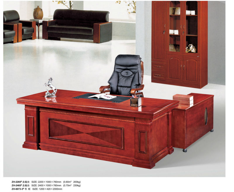 Foshan high quality antique wood office desk furniture seriesZH-2265#
