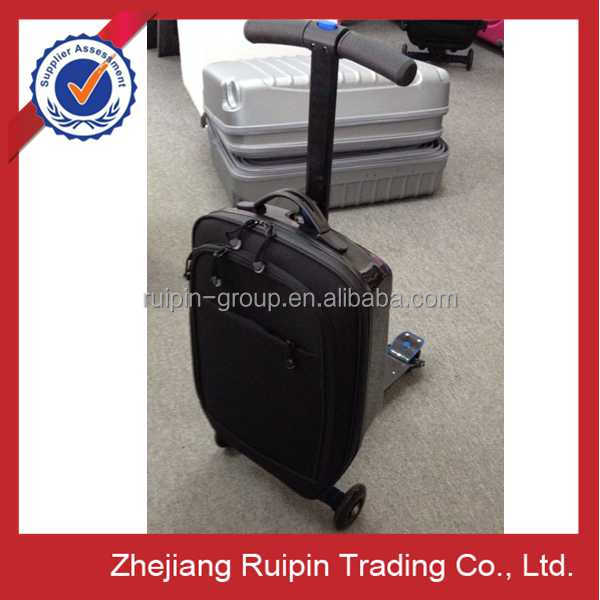 21 inch side eva luggage scooter, eva trolley case, scooter luggage