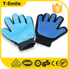 Remover grooming pet shedding gloves rubber brush cleanning hair
