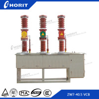 ZW7-40.5 33kv outdoor types of electrical vacuum circuit breakers